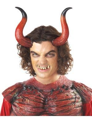 Hellion Devil Horns and Teeth Halloween Set