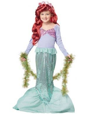 Mermaid Sea Weed Girl's Green Boa Costume Accessory