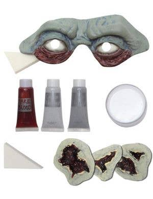 Graveyard Zombie Halloween Makeup Kit