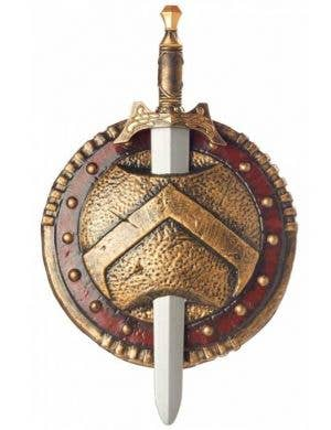Spartan Costume Combat Sword and Shield