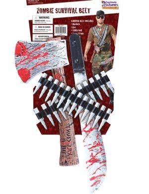 Zombie Hunter Costume Weapon Kit