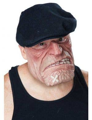 Men's Novelty Prison Thug Latex Costume Mask Accessory
