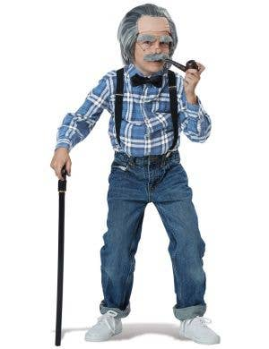 Old Man Boys Costume Accessory Kit