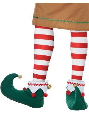 Christmas Elf Shoes Adults Costume Accessory