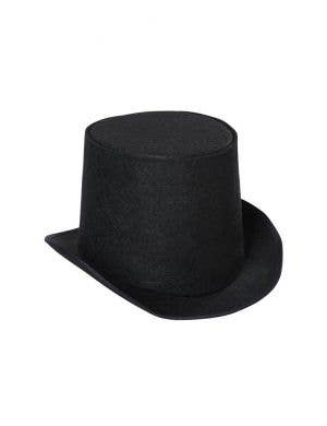 Classic Black Top Hat Adult's Costume Accessory