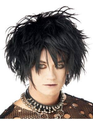 Midnight Fiend Men's Punk Wig