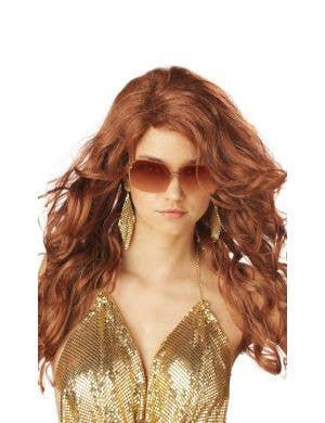 Super Model Women's Auburn Red Costume Wig