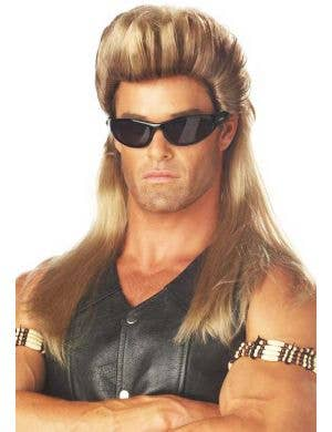 Dog the Bounty Hunter Men's Straight Mullet Wig
