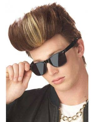 Men's Justin Bieber Pop Star Costume Wig
