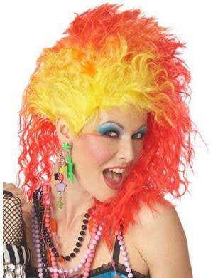 True Colours Women's 80's Wig