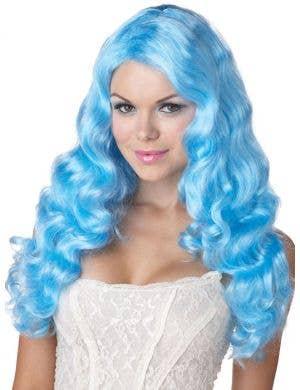 Sweet Tart Women's Blue Costume Wig