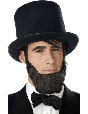 Adult's Abraham Lincoln Black Costume Beard