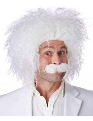 Men's Einstein Mad Scientist Fancy Dress Costume Wig