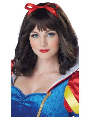 Snow White Women's Brown Fairytale Wig