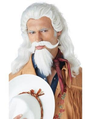 Buffalo Bill Men's Wig and Beard Accessory Set