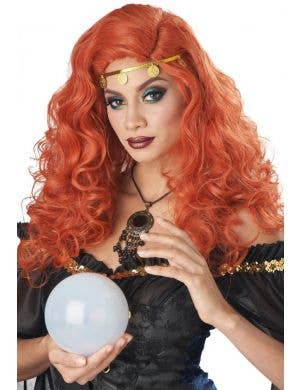 Mystified Women's Auburn Fortune Teller Costume Wig