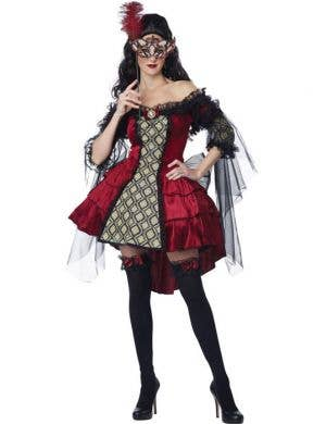 Mysterious Masquerade Sexy Women's Costume