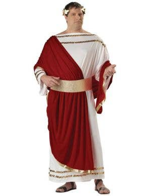 Julius Caesar Plus Size Men's Costume