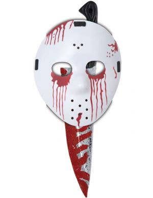 Slasher Mask And Knife Halloween Set