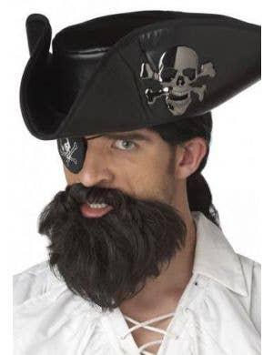 The Captain Black Moustache and Beard