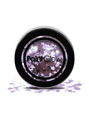 Chunky Loose Glitter Festival Party Makeup Helter Skelter Purple