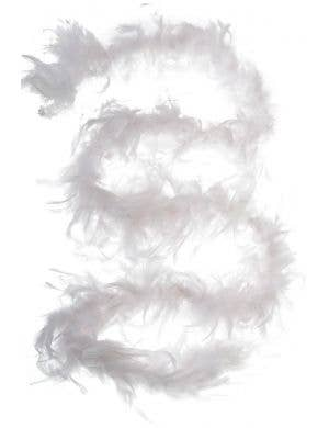 Burlesque Budget White Feather Boa Costumes Accessory