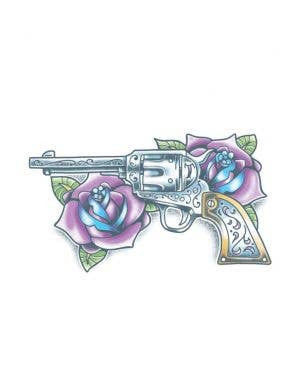 Guns And Roses Deluxe Temporary Tattoo
