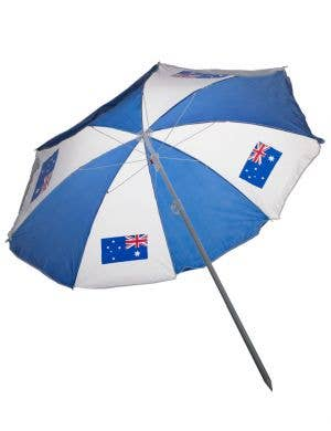 Aussie Day Large Beach Umbrella Main Image