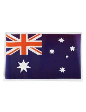 Australian Flag Aussie Day Car Window Sticker Alternative Image
