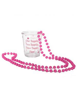 Shot Glass Novelty Hen's Night Necklace Main Image