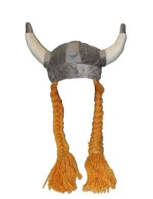 Nordic Viking Soft Plush Costume Helmet