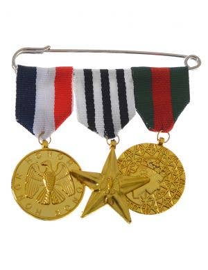 Military Medals of Honour Wartime Costume Accessory
