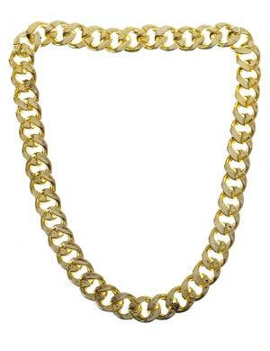 Jumbo Gangster Gold Chain Bling Costume Necklace