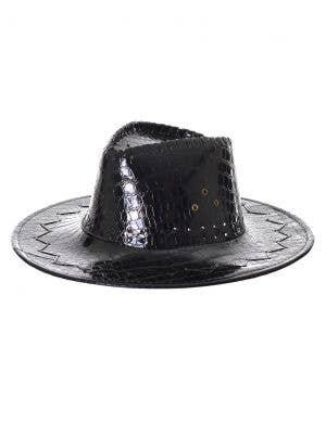 Deluxe Black Crocodile Skin Akubra Cowboy Hat