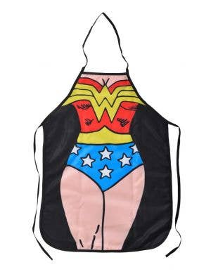 Super Hero Wonder Woman Funny Adults Printed Costume Apron