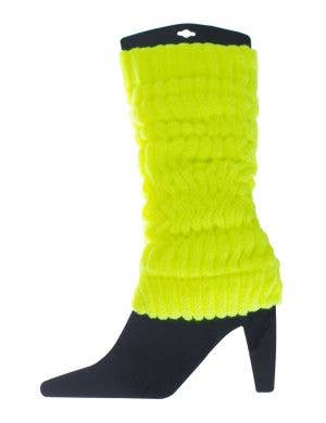 Fluro Yellow Leg Warmers Image 1
