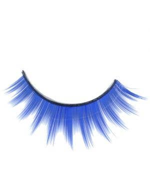 Layered False Eyelashes in Blue