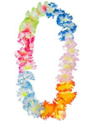 Multicoloured Tropical Flower Lei Image 1