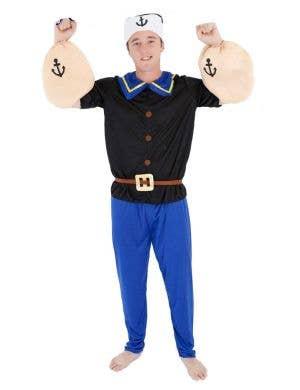 Men's Popeye Sailor Man Budget Dress Up Costume