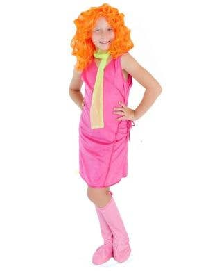 Girls Daphne Fancy Dress Costume Main Image