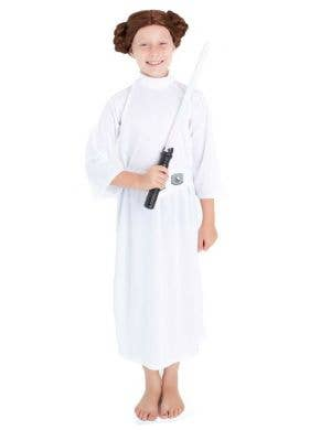 Princess Leia Girls Star Wars Book Week Costume Main Image