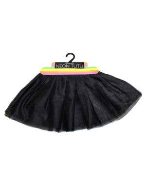 Girl's Soft Mesh Layered Costume Tutu Front View