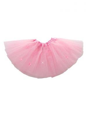 Flashing Pink Princess Girl's Costume Tutu