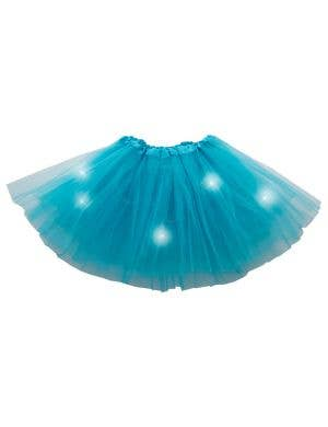 Flashing Blue Princess Girl's Costume Tutu