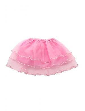 Layered Mesh Girl's Pink Frilled Costume Tutu