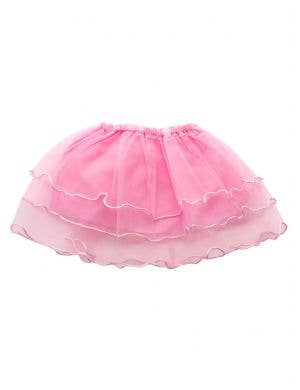 Layered Mesh Girl's Pink Frilled Costume Tutu