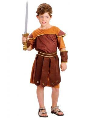 Roman Soldier Boys Book Week Costume Front View