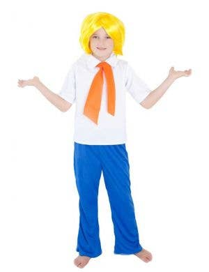 Boys Scooby Doo Fred Book Week Costume