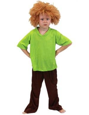 Boys Shaggy Fancy Dress Costume