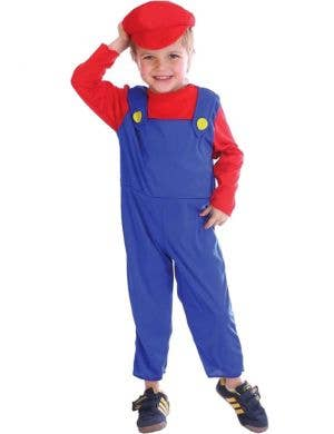 Super Mario Boys Toddler Costume Front View